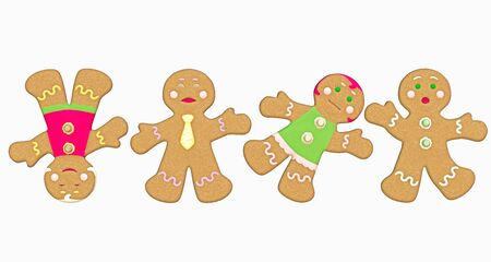 happy gingerbread Stock Photo - 9147615