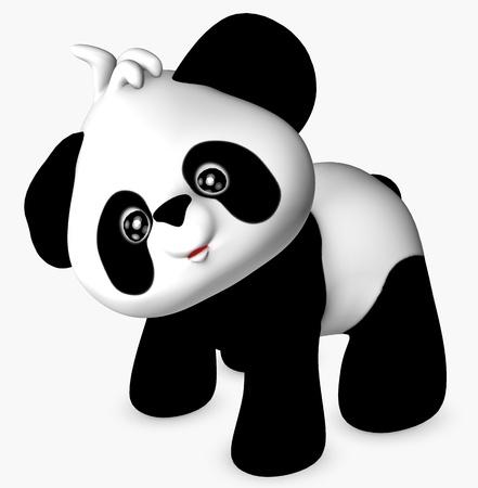 childishness: cute panda