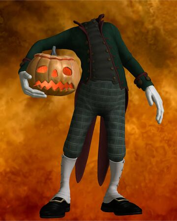 pumpkin man photo
