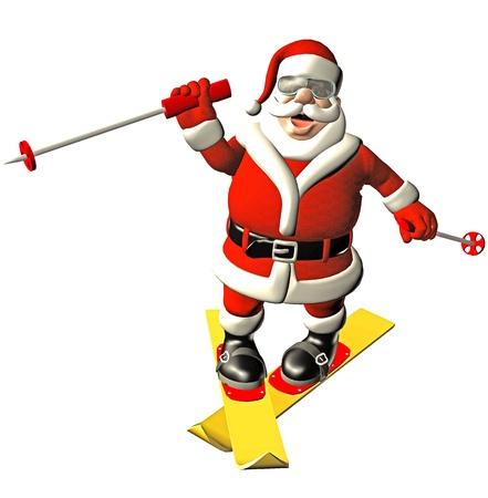 happy santa photo
