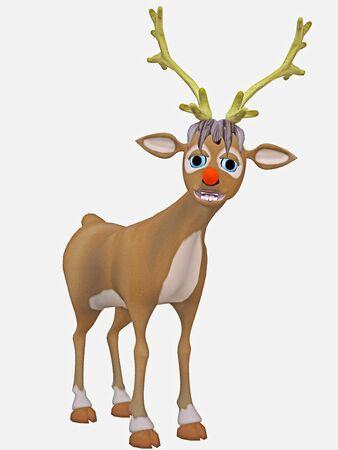 rudolph reindeer photo