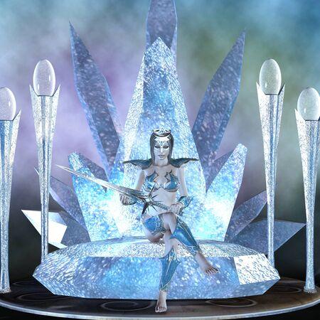 snow queen: ice queen