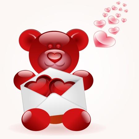 love letter Stock Vector - 9146513