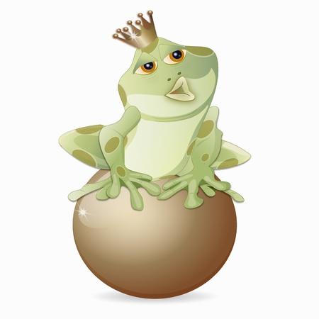 frog king Vector