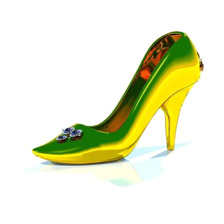 cinderella shoes: golden slipper