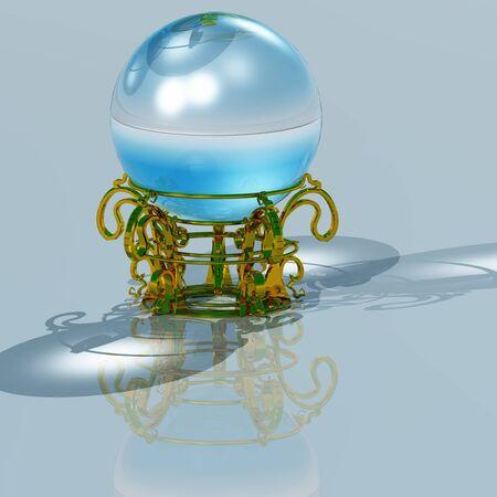 foreshadowing: crystal ball