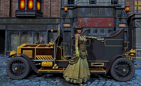 victorian street photo