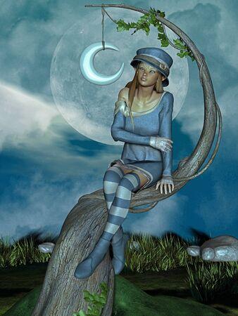 toonimal: elf in the night