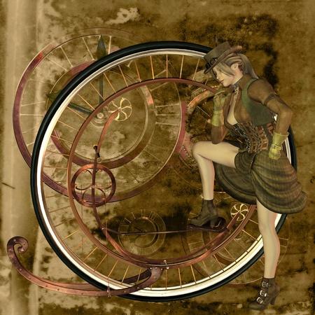 nostalgia: steampunk Stock Photo
