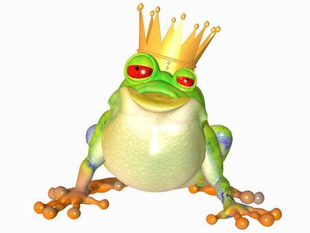 frog king photo