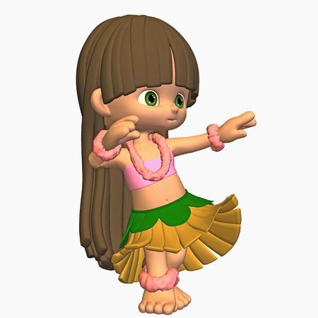 hula girl: hula girl