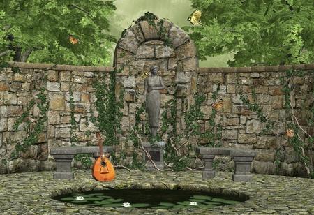 secret garden Stock Photo - 9182375