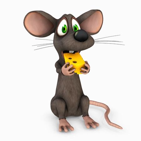 toon mouse Stock Photo - 9182380