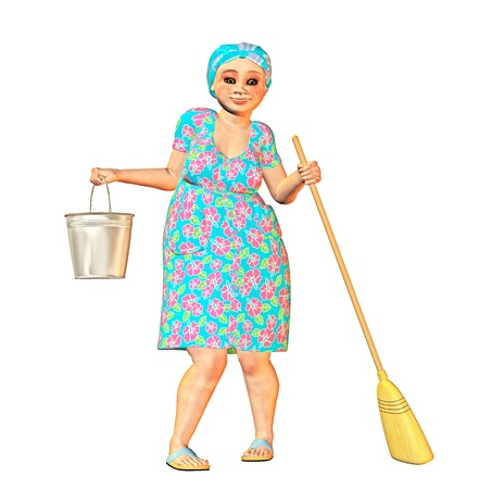 spring cleaning Stock Photo - 9182389