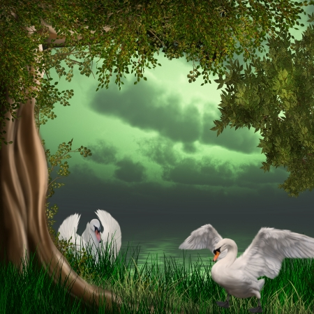 fairytale background: Dreamland