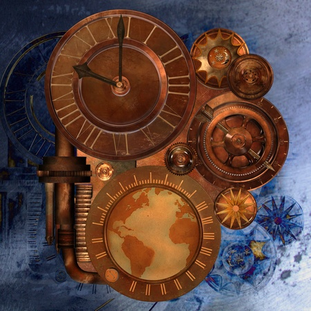cogs: steampunk Stock Photo