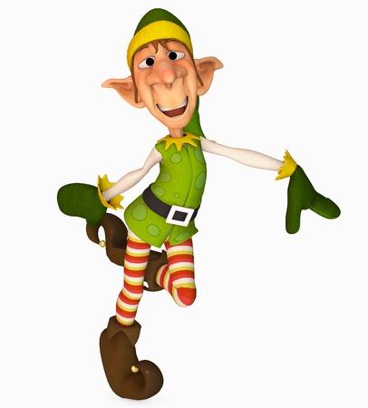 toon: christmas elf