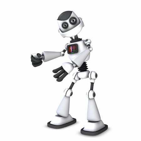 robot toon Stock Photo - 9206235