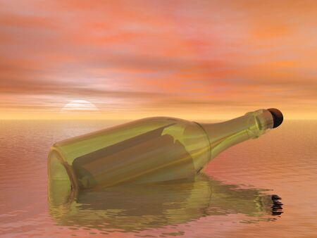 unreal unknown: message in a bottle