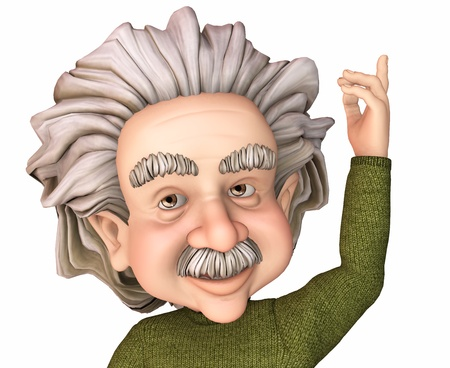 einstein: toon scientist Editorial