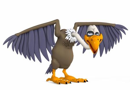 vulture Standard-Bild
