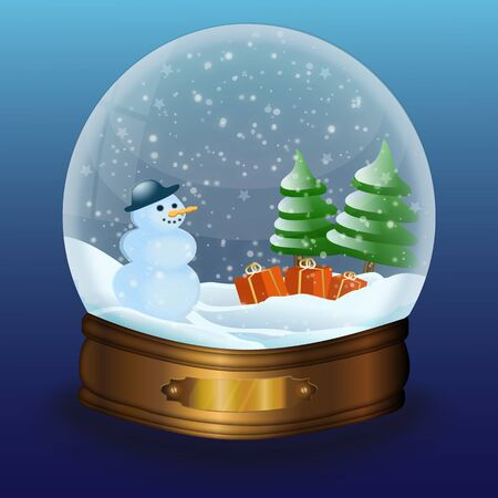 snow globe Stock Photo - 9762113