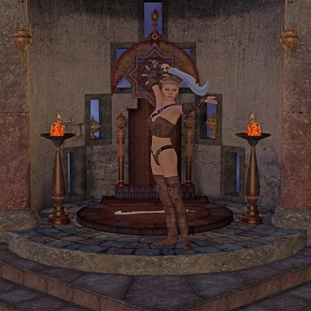 fantasy scene - roleplay photo