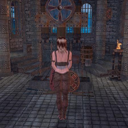 medieval scene photo