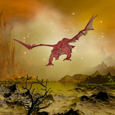 adventure story: dragon