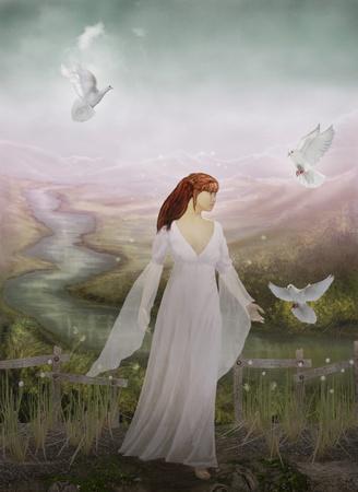 mystical woman: dreamland