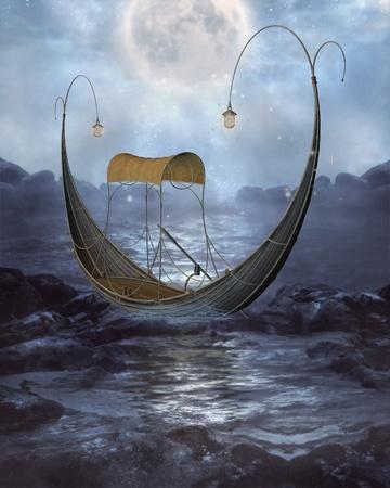 fae: elven gondola