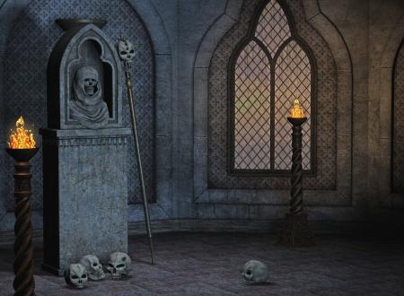 gothic scenery Stock Photo