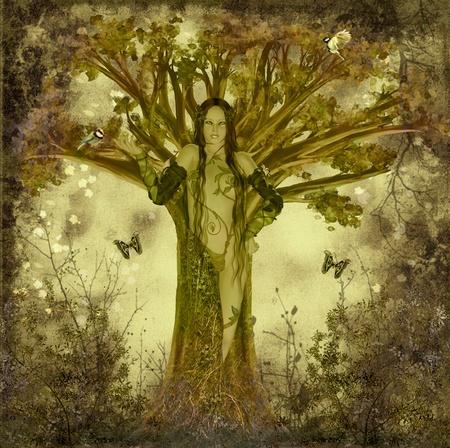 mother earth Standard-Bild