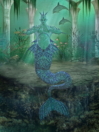 dragon fish: merman