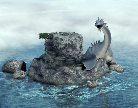 dragon fish: seamonster