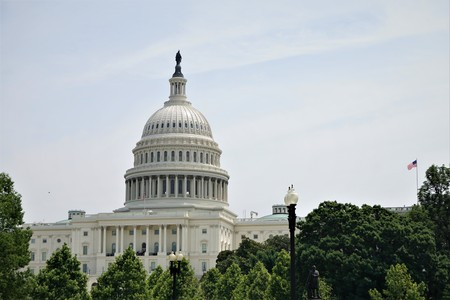 WASHINGTON,D.C. USA, JUNE 08,2018 ;United States Capital Building in Washington, D.C ,