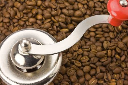 coffeebeans: Coffemill with coffeebeans