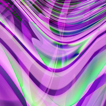 abstracted: A violet abstracted wavy lines, going to infinity Stock Photo
