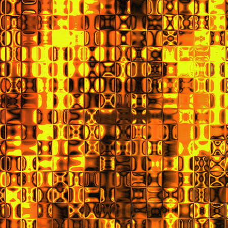fiery: An abstract texture with fiery glass tiles Stock Photo