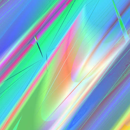 distorted: An abstract background with rainbow distorted stripes Stock Photo