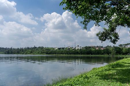 lakeside: lakeside scenery Editorial