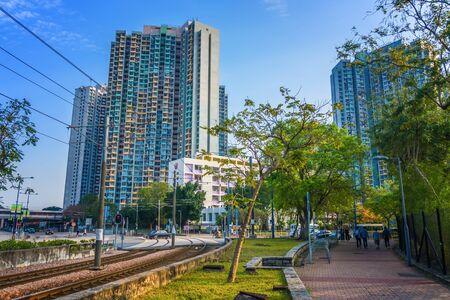 Street Sight in Tin Shui Wai, Hong Kong