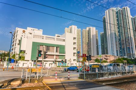 City Scenery in Tin Shui Wai,Hong Kong