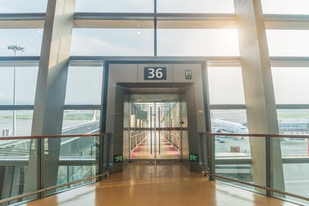 쿤밍 국제 공항 36 번 게이트
