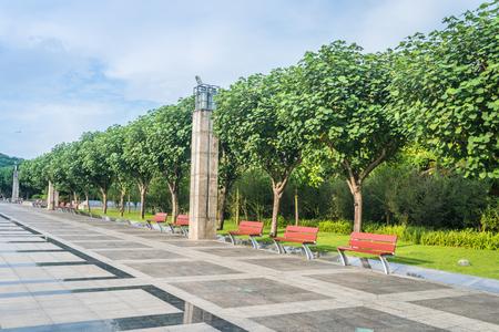 Park scenery at China