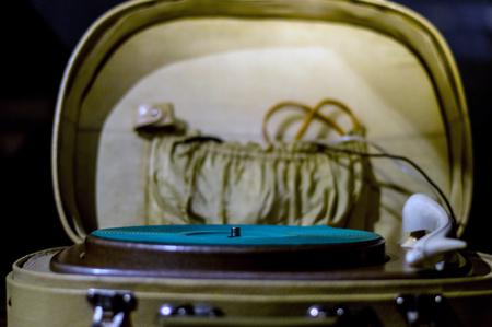 Gramophone vintage photography Stock Photo