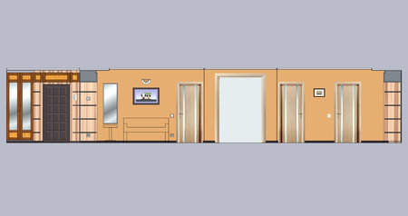 reamer: Sweep Improvement interior walls of an apartment house