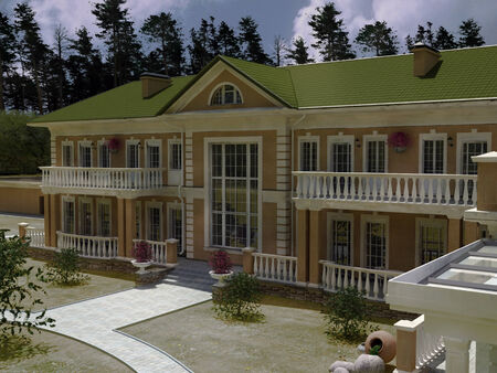 dwelling: House Dwelling is a classic traditional style