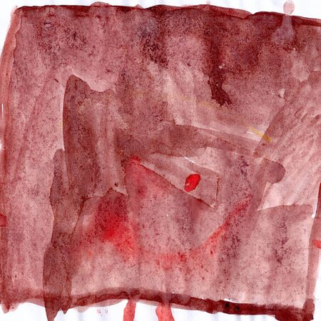 sanguine: Abstract picturesque colored drawing on paper paints