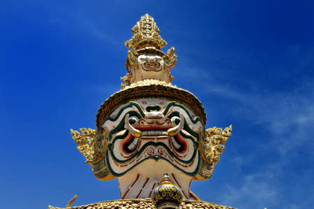 Thai giant in Watprakeaw Grand Palace of Thailand photo